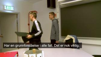 Video med studenter fra Førde