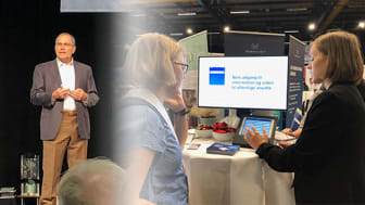 Dr. Richard Milani var key-note speaker på WHINN 2018, der også udstillede nye produkter til et bedre sundhedsvæsen