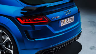 Audi TT RS with OLED rear lights