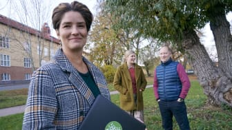 """""""Vi har fått ut fantastiskt mycket av detta"""", menar tillväxtchef Anna Bertram som tillsammans med forskarna Lisa Källström och Per Siljeklint drivit samverkansprojektet Mitt gröna hjärta."""