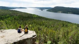 Rekordmånga svenskar semestrade i Höga Kusten i juli