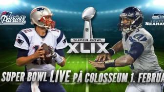 Viasat, Viasat 4, Viaplay og Nordisk Film Kino inviterer til Super Bowl i Colosseum