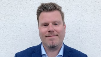 Mikael Bredelius, ny marknadsområdeschef för Riksbyggens fastighetsförvaltning i  Skaraborg