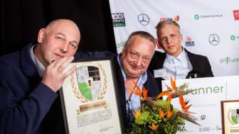 Nöjd personal hos Kvibergs Måleri; Ulf Ramert, Jonas Andersson och Pontus Karlsson
