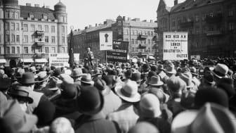 Stadsbiblioteket torsdag 7 okt kl 18.30: Striden ägde rum i Malmö – Möllevångskravallerna 1926