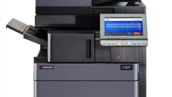 Kyocera printer with One Q interface on client