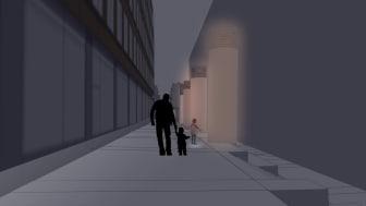 Ljusidéer för passage