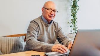 Christer Ruda, Medicinteknisk säljare och egenanställd hos Frilans Finans