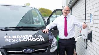 Ford går elektrisk i London