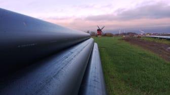 Pressinbjudan - energiministern inviger Sveriges längsta gemensamma fjärrvärmeledning