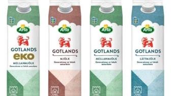 Arla satsar på lokalproducerad mjölk från Gotland
