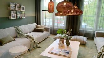 Gemensamt vardagsrum i Copartment-huset