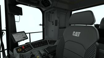 Cat 992 inuti hytten