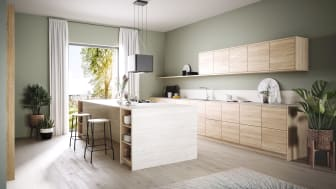 So gentle, so beautiful, so relaxed:  Natural colours in the kitchen