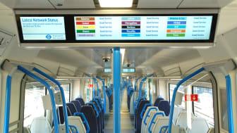Thameslink trains - smart signs - Tube info