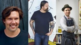 Tommy Myllymäki, Jonas Cramby och Olle T Cellton öppnar pop up-krog i juni