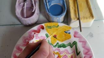 Intresserad av kurs i porslinsmålning