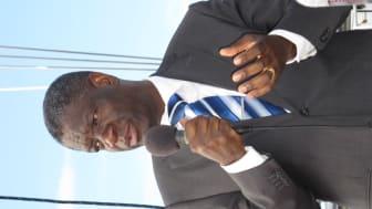 Inbjudan till presskonferens med Denis Mukwege