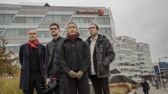 Vinnare i kategorin Årets Avslöjande: Per Agerman, Joachim Dyfvermark, Axel Gordh Humlesjö och Linda Larsson Kakuli