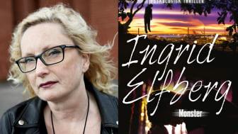 Monster – Ny spänningsroman av Ingrid Elfberg!
