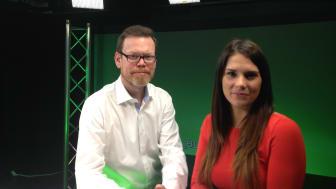 Mattias Elander Forsgren och Rosanna Bhanji, Aktuellt om Hus.