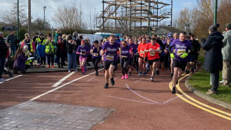 ​Teesside runners join the resolution for the Stroke Association