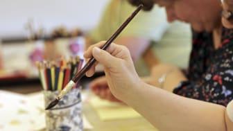 Verksamhet för personer med funktionsnedsättning hos Studieförbundet Vuxenskolan Stockholm.