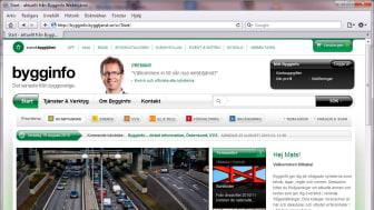 Bygginfo lanserar helt ny webbtjänst