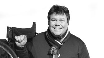Pelle Sköldbäck Alla Kan -idrott för alla. Fotograf: Joakim Palm Karlsson.
