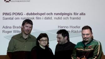 Hanno Hoefer, Adina Bradeanu, Razvan Radulescu & Roger Wilson (8 mars 2010)