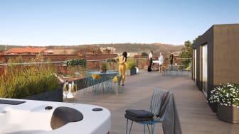 I Brf Landshövdingen utmanar bostadsutvecklaren normen för nybyggda lägenheter. Även utformningen av föreningens stadgar sticker ut.