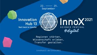 """Vom 22. bis 25. September 2021 findet unter dem Motto """"Regionen stärken, Wissenschaft erleben und Transfer gestalten"""" das InnoX Science Festival statt. Die Programmwebseite ist ab sofort online. (Bild: InnoX Science Festival / Innovation Hub 13)"""