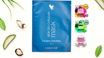 Global Makeup Awards USA, Global Green Beauty Awards, Pure Beauty Awards – vores mest luksuriøse ansigtsmaske aloe bio-cellulose mask har fortjent alle priserne og al opmærksomheden.