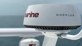 High res image - Raymarine - Quantum Dioppler Radar Mast