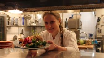 Junibackens kökschef Johanna Nystedt. Junibacken är KRAV-certifierad och med i nätverket Hållbara Restauranger.