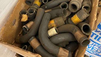 Bishopstone Hoard - rubber tubes