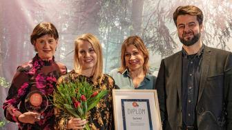 Elmia Spark Award 2019, Sustainable Exhibitor of the Year, Sydved