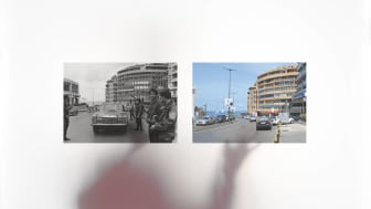 Lawrence Abu Hamdan and Bassel Abi Chahine, Shot Twice (By the Same Bullet), 2021, Installation detail