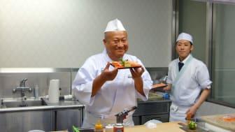Japan er utstillingsvindu for sushitrenden i resten av verden  (Foto: Norges sjømatråd)