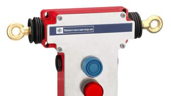 Preventa XY2CED - Ny, dobbelsidig nødstoppbryter med snortrekksystem