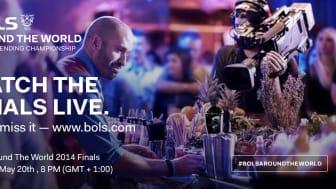 Bols Around the World 2014 - finale i Amsterdam 20.05.2014