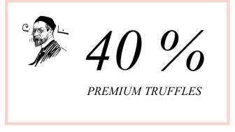 Köp Carl Larssons exklusiva tryfflar för rabatterat pris