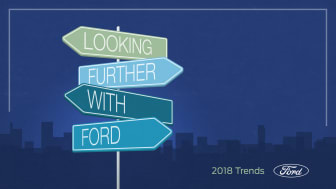 Ford spår framtiden i årlig trendrapport: 61 procent positiva till självkörande