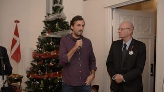 Alex Bratu, Country Manager JYSK Romania, si Søren Jensen, Ambasadorul Danemarcei in Romania