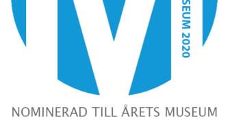 Nominerad Årets Museum 2020 logga
