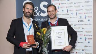 """Coapps vinnare av Security Awards 2017 – """"Årets Tekniklösning"""""""
