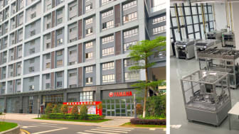 New office (left) and showroom (right) in Shenzhen, China (The opening ceremony will be held by the end of July.)
