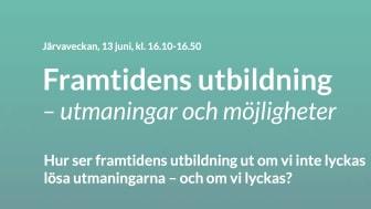 Hur ser dagens studenter, som ju har den mest aktuella bilden av studier i Sverige, på framtidens utbildning? Det vill vi ta reda på och konkretisera med det här samtalet, berättar Martina Lindgren, marknadschef på Nackademin.