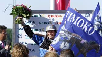Timoko och Björn Goop vann Elitloppet 2014