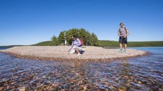 Saimaa Geopark-kohde Rastinniemi Taipalsaarella